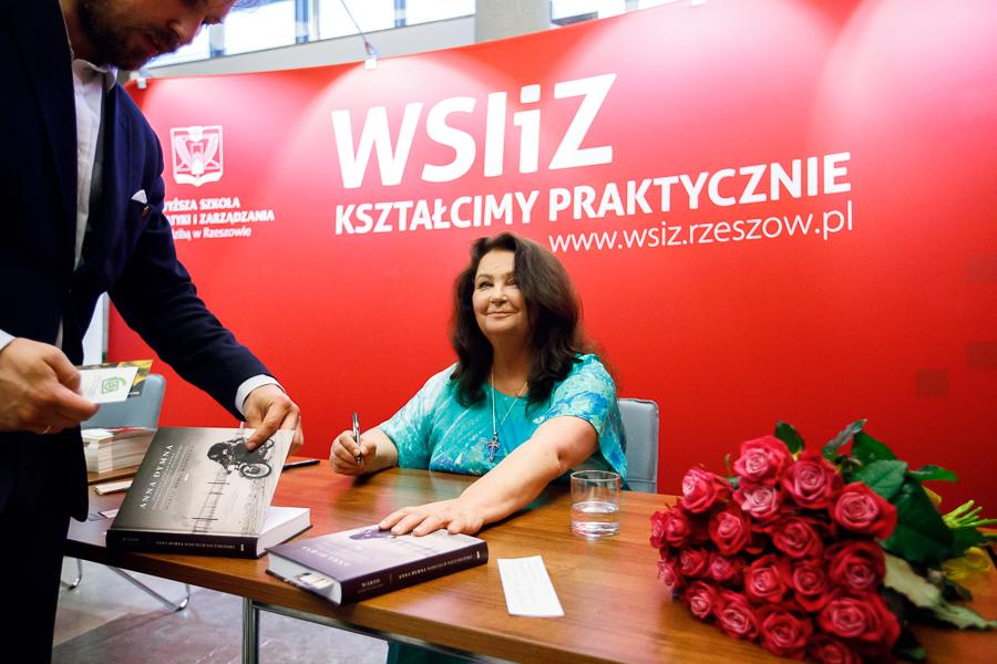 Anna Dymna i Wojciech Bonowicz byli gośćmi WSIiZ
