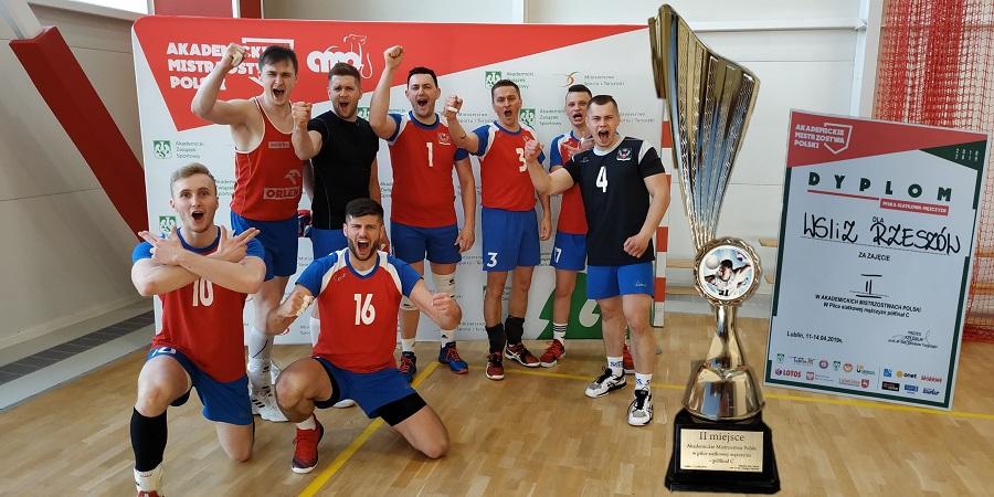 Drużyna siatkarska mężczyzn KU AZS WSIiZ zakwalifikowała się dofinałów Mistrzostw Polski!
