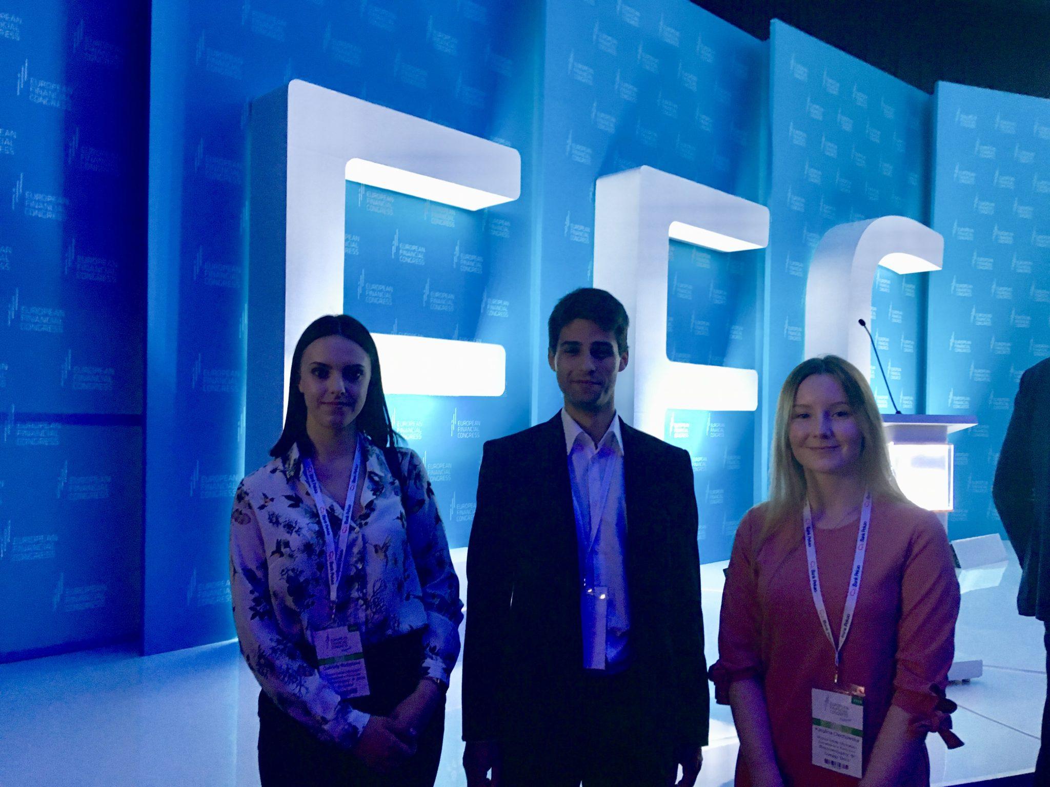 Studenci zFLOW naIX Europejskim Kongresie Finansowym