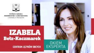 Studia: Filologia Angielska: Izabela Bełz Kaczmarek