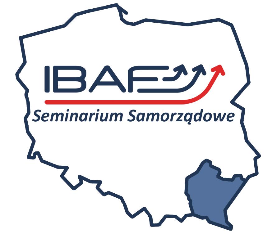Logo IBAF Seminarium Samorządowe WSIiZ