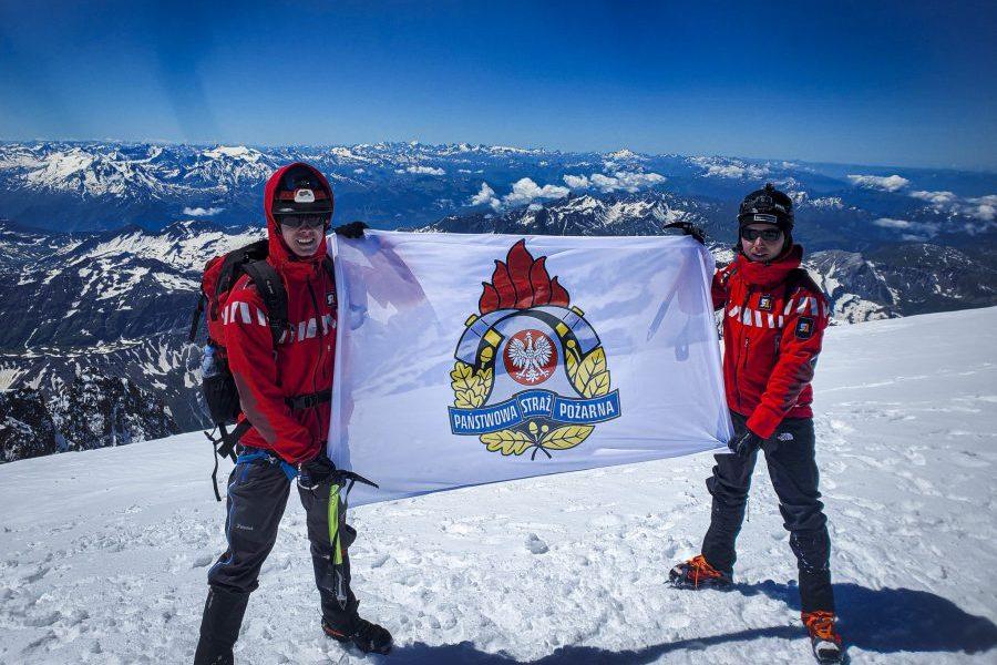Zdobyli Mont Blanc ipomogli dzieciom