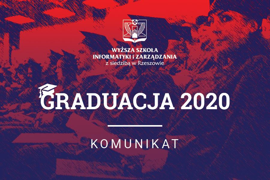 Komunikat Graduacja WSIiZ