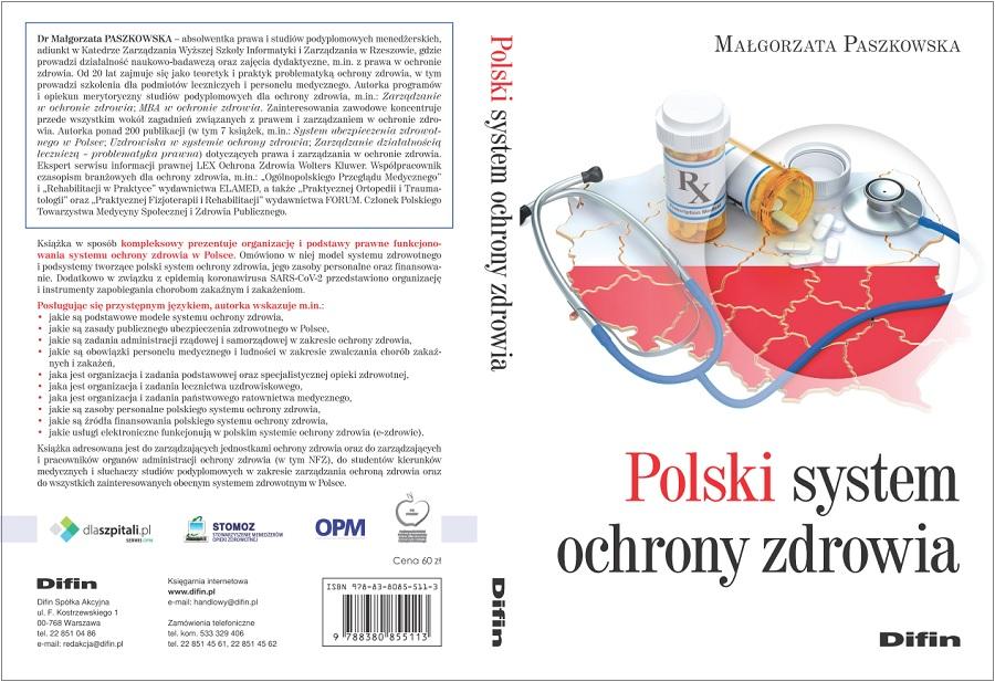 książka, ochrona zdrowia, Paszkowska